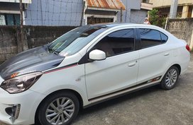 White Mitsubishi Mirage g4 for sale in Manila
