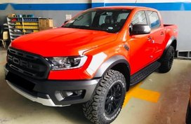 Orange Ford Ranger Raptor 2020 for sale in Manila