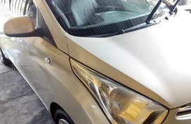 Silver Hyundai Eon 2014 for sale in Quezon City