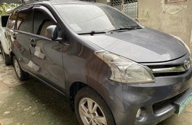 METALLIC GRAY TOYOTA AVANZA 2013 1.5G M/T FOR SALE IN DAVAO CITY