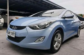 Blue Hyundai Elantra 2014 for sale in Manila