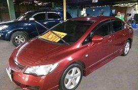 Red Honda Civic 2006 Sedan for sale in Manila
