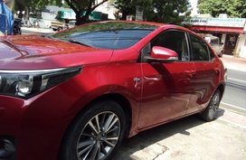 Red Toyota Corolla Altis 2014 for sale in Makati