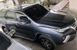 Silver Toyota Fortuner 2017 for sale in General Santos