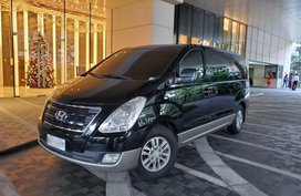 Black Hyundai Grand Starex 2016 for sale in Manila