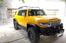 Yellow Toyota FJ Cruiser 2016 for sale in Angat