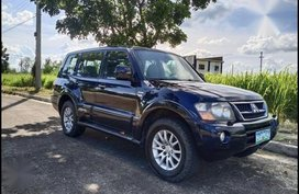 Black Mitsubishi Pajero 2005 for sale in Manila