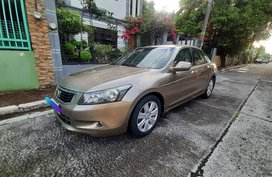 Brown Honda Accord 2009 for sale in Marikina