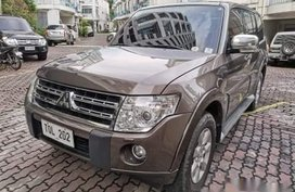 Brown Mitsubishi Pajero 2011 SUV at 116000 km for sale in Manila