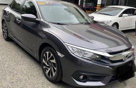 Grey Honda Civic 2017 for sale in Manila