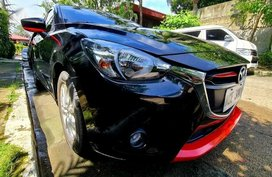 Selling Black Mazda 2 2016 in Quezon City