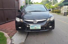 Black Honda Civic 2009 PRICE 300K