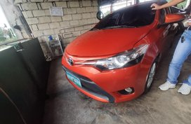 Selling Orange Toyota Vios 2013 in Dagupan