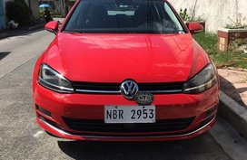 Red Volkswagen Golf 2018 for sale in Manila