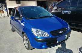 Blue Hyundai Getz 2007 for sale in Manila