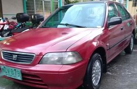 Red Honda City 1997 for sale in Valenzuela