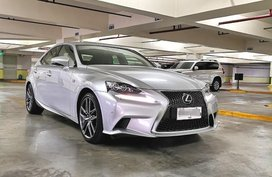 Silver Lexus IS 350 F Sport 2015 for sale in Manila