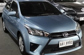 Silver Toyota Yaris for sale in Quezon City