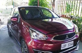 Purple Mitsubishi Mirage for sale in Davao City