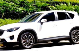 Pearl White Mazda Cx-5 for sale in Manila