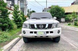 Pearl White Nissan Patrol super safari for sale in Imus