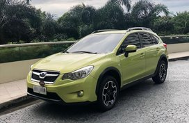 Green Subaru Xv 2014 for sale in Manila