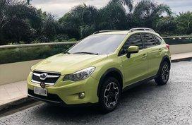 Green Subaru Xv 2014 for sale in Manila