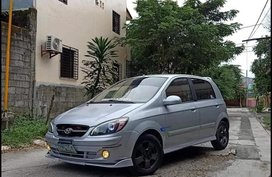 Grey Hyundai Getz 2006 for sale in Manila