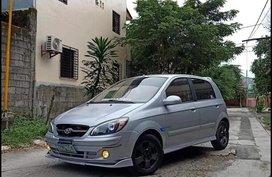 Grey Hyundai Getz 2006 for sale in Manila