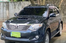 2013 Toyota Fortuner Dark Steel Mica at Good Price For Sale in Quezon CIty