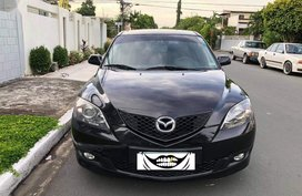 Black Mazda 3 2008 for sale in Las Piñas