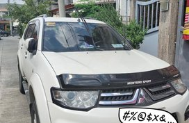 White Mitsubishi Montero for sale in Manila