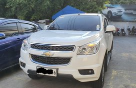 Pearl White Chevrolet Trailblazer for sale in Muntinlupa