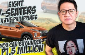 Eight 7-seaters in the Philippines under P1.5 million