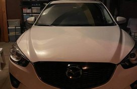 Pearl White Mazda Cx-5 for sale in Quezon City