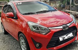 For Sale Toyota Wigo G 2018 Red Top of the line