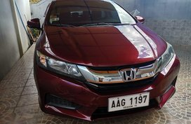 Selling Red Honda City in Manila