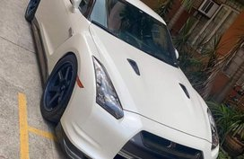 Pearl White Nissan GT-R 2011 for sale in Pasig
