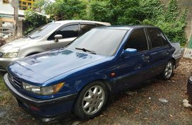 Blue Mitsubishi Lancer for sale in Manila