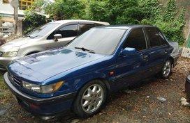 Blue Mitsubishi Lancer for sale in Manila