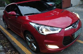 Selling Red Hyundai Veloster in Quezon City