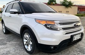 Silver Ford Explorer 2014 for sale in Pasay City