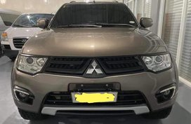 Mitsubishi Montero sports 2015 ( metal brown)
