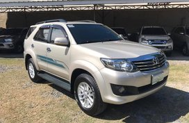2012 Toyota Fortuner G D4D automatic turbo diesel
