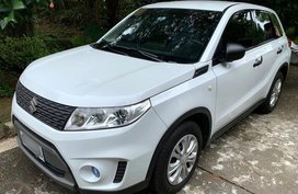 Pearl White Suzuki Vitara 2018 for sale in Muntinlupa
