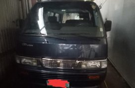 Black Nissan Urvan 2013 for sale in Las Piñas