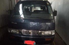 Black Nissan Urvan 2013 for sale in Las Piñas