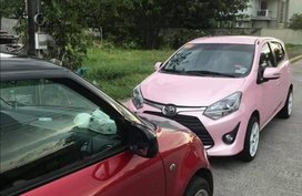 Pink Toyota Wigo 2019 for sale in Paranaque City