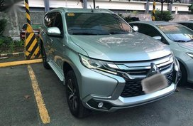 Silver Mitsubishi Montero 2017 for sale in Makati