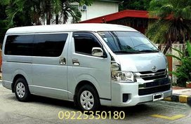 Silver Toyota Grandia 2014 for sale in Manila